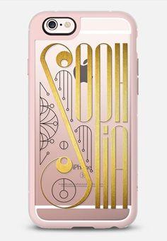 Sophia (Gold Lettering Art Deco transparent) iPhone 6s case by Timone   Casetify  #Sophia #Sophie #artdeco #lettering #typography #gold #name #case #iphone #iphone6 #phone #transparent