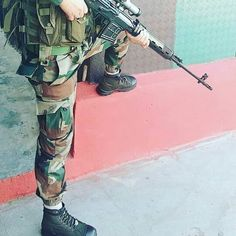 Image may contain: 1 person Military Love, Army Love, Military Art, Indian Army Special Forces, Indian Army Wallpapers, Indian Army Quotes, Army Pics, Pakistan Army, Army Soldier