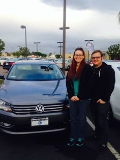 Congratulations to Jonathan and Jennifer! They just bought a new 2015 #VW Passat, thanks to the help of Cristal Viramontes!