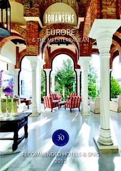Luxury, boutique recommended Hotels  Spas Europe  the Mediterranean