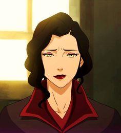 The Legend of Korra: Book 4 - Asami Sato. I kind of hope she and Mako get back together