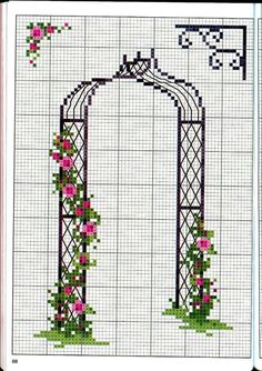 Awesome Most Popular Embroidery Patterns Ideas. Most Popular Embroidery Patterns Ideas. Tiny Cross Stitch, Cross Stitch Tree, Simple Cross Stitch, Cross Stitch Flowers, Cross Stitch Charts, Cross Stitching, Cross Stitch Embroidery, Embroidery Patterns, Modern Cross Stitch Patterns