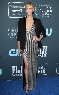Jennifer Lopez from Critics' Choice Awards 2020 Red Carpet Fashion Charlize Theron Style, Charlize Theron Oscars, Critic Choice Awards, Critics Choice, Dior Haute Couture, Georges Hobeika, Olivia Wilde, Zendaya, Jennifer Lopez