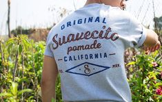 cc682079037d Keep things light and fresh this season. Find the Heritage tee on Suavecito .com
