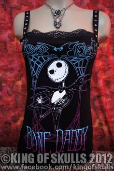 I found 'Nightmare Before Christmas Bone Daddy DIY Gothic by kingofskulls' on Wish, check it out!