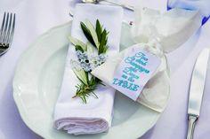 Servietten #Hochzeit #Tischdeko fasheia.com