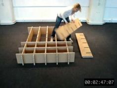 Nnixhomefurniture1.mov I am going to make a cubby for my fabric out of cardboard like this