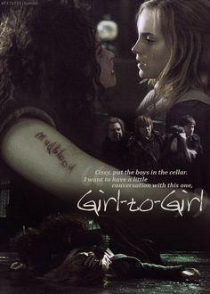Hermione's torture....
