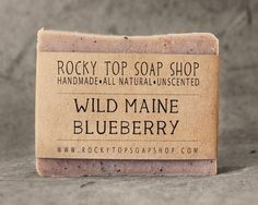 - Description - Additional Info - Ingredients - This year marks our 5th seasonal batch of Wild Maine Blueberry soap! And we plan to make it for many more to come. This quintessential berry is not only