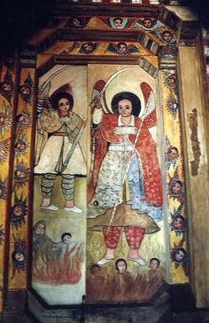 The door to the inner sanctum of one of the churches on Lake Tana. Ethiopia