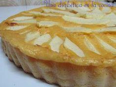 Tarta de manzana sin azúcares añadidos Ingredientes: 2 huevos 1 yogur de limón desnatado y edulcorado 100 ml. de leche...