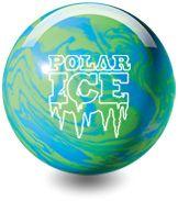 Polar Ice Polyester Bowling Ball