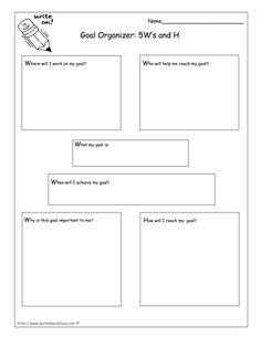 Printables Printable Goal Setting Worksheet printables for students to set goals back school focus on goal setting kids