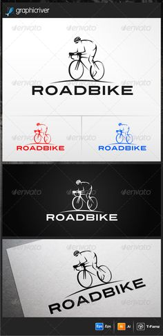 Roadbike Logo Templates