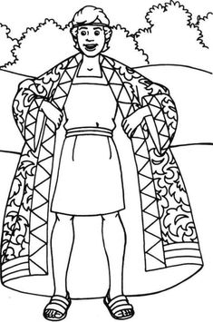 Joseph Coloring Pages - Best Coloring Pages For Kids