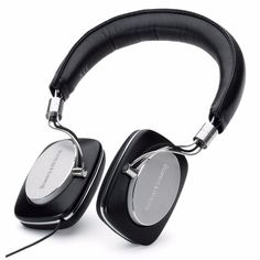 Bowers & Wilkins P5 Mobile Hi-Fi On-Ear Headphones - Black/Silver