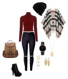 """Untitled #39"" by macleecell ❤ liked on Polyvore featuring A.L.C., Burberry, Topshop, Gorjana, Luv Aj and Kenneth Jay Lane"
