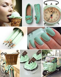 mint green. I love everything about this color!