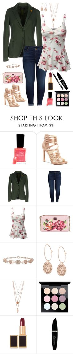 """""""Geen titel #668"""" by miriam-witte ❤ liked on Polyvore featuring Jessica Simpson, IANUX, KUT from the Kloth, Doublju, Dolce&Gabbana, Accessorize, MAC Cosmetics, Tom Ford, Max Factor and Manic Panic NYC"""