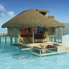 Someday, I'd like to stay in one of these relaxing looking huts