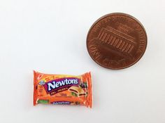 1:12 Scale Dollhouse Miniatures Groceries Food Newtons Fig Cookies Package
