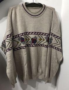 Sweater Talla 54 : Sweater color beige con diseño Calvin Klein, Topshop, Color Beige, Blazer, Sweatshirts, Sweaters, Fashion, Babydoll Sheep, Leather Jacket