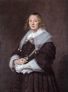 Mujer alemana, 1643