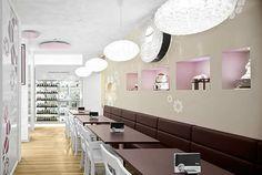 Cupcake store seating idea