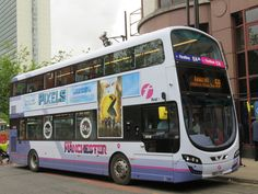 First Bus, Buses And Trains, Double Decker Bus, Past Present Future, Bus Coach, Coaches, Manchester United, Places To Travel, Transportation