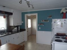 Teal Kitchen After