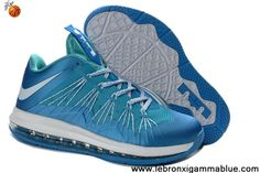 Buy New 579765-300 Easter 2013 Nike Air Max Lebron 10 Low For Sale