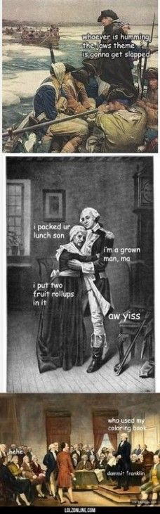 Founding Fathers - Genius Meme - Founding Fathers History Memes Founding Fathers: This is my favorite. The post Founding Fathers appeared first on Gag Dad. The post Founding Fathers appeared first on Gag Dad. Stupid Funny Memes, The Funny, Funny Stuff, Daily Funny, Random Stuff, Fitness Memes, Art Memes, Memes Humor, Funny Humor