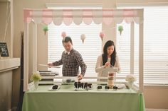 Hannahs Ice Cream Parlor Party!  Read more - http://www.stylemepretty.com/living/2014/03/06/hannahs-ice-cream-parlor-party/ #pinkmartinievents #icecream #birthday #party