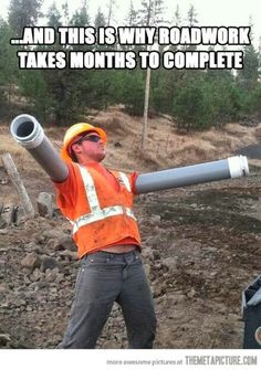 abab68b9 Funny pictures about Scumbag road workers. Oh, and cool pics about Scumbag  road workers. Also, Scumbag road workers. ASCE Foundation · Civil  Engineering ...