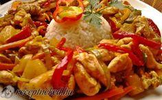 Édes-savanyú-csípős csirkemell recept fotóval
