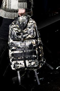 Balmain Homme Fall 2017 Menswear Fashion Show Details