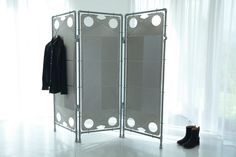 Steel screen from plumbing pipes by Nanowo on Etsy