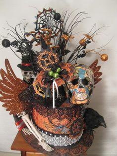 Seymour Bones Steampunk Spells Hat from Kathi Mann! Love this #graphic45