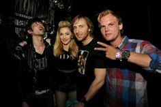 With Justice,David Guetta and Avicci