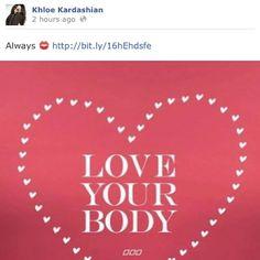 Khloe Kardashian & Lorna Jane xx
