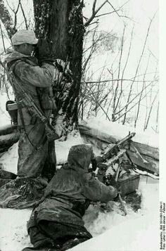 Deutschen Soldaten in Festung Deutschland.