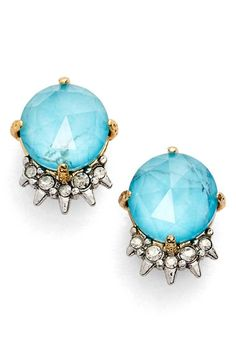 Alexis Bittar Spike Crystal Stud Earrings available at #Nordstrom