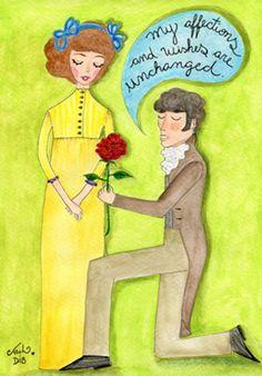 Unchanged affections - poster FINE ART Sementinhas Cor-de-Rosa por Carol Dib na Colab55.