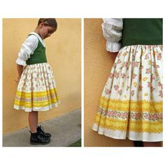 dirndl for Elise Baby Costumes, Cool Costumes, Halloween Costumes, Pinnochio Costume, Sound Of Music Costumes, Little Girl Dresses, Girls Dresses, For Elise, Costume Patterns