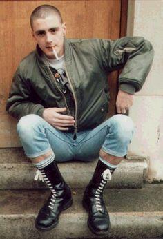 Skin #skinhead #oi #boots