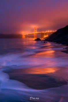Marshall beach, San Francisco, USA