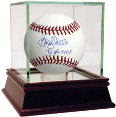 Graig Nettles Signed MLB Baseball w/ '76 HR Title' insc