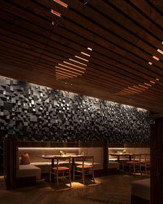 Morimoto Restaurant. Interior Design » mpdStudio #restaurantdesign