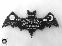 Ouija Bat Clock                                                                                                                                                                                 More