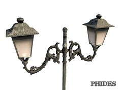 Street light 1. This royalty free 3D model or texture is available for download now! Street light 1 low-poly 3d model ready for Virtual Reality (VR), Au...